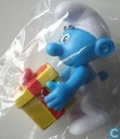 Joke smurf with moveable arms