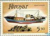 Postage Stamps - Faroe Islands - Fisherman Ships