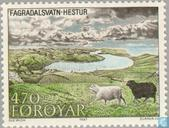 Postage Stamps - Faroe Islands - Island Of Hestur
