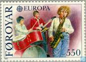 Postage Stamps - Faroe Islands - Europe – Music Year