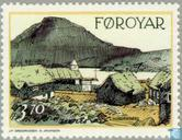 Postage Stamps - Faroe Islands - Buildings