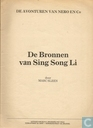 Comic Books - Nibbs & Co - De bronnen van Sing-Song Li