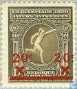 Postage Stamps - Belgium [BEL] - Olympic Games, with overprint