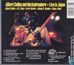 Vinyl records and CDs - Collins, Albert - Live in Japan