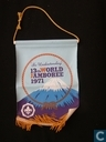 13th World Jamboree Pennant