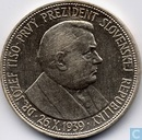 "Slowakije 20 korun 1939 ""Jozef Tiso - The first president of Slovak Republic 1939"""