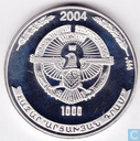 "Nagorno-Karabach 1000 drams 2004 (PROOF) ""Genocide Victims Monument 1918"""