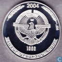 "Nagorno-Karabach 1000 drams 2004 (PROOF) ""Eagle"""