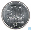 Hungary 50 fillér 1971