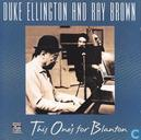 Disques vinyl et CD - Brown, Ray - This One's For Blanton