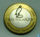 "Slovenia 500 tolarjev 2005 ""100th Anniversary of Slovenian Sports Association"""