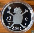 "Netherlands 1 gulden 2001 (PROOF) ""Last Guilder"""