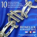 "Benelux mint set 2012 ""10 Years of Euro in the Benelux"""