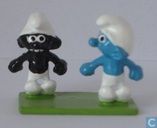 The Black Smurf & Smurf