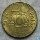 Indien 20 Paise 1970 (Bombay)