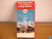New York City and Vicinity Long Island, map and visitor's guide