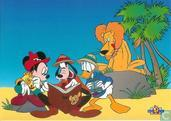Disney Mickey, Goofy en Donald