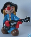 Clown avec guitare