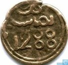 Morocco 4 falus 1871 (year 1288 - Fes)