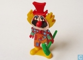 Clown mit hammer