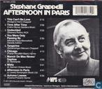 Vinyl records and CDs - Grappelli, Stephane - Afternoon In Paris