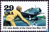 US wins Battle of the Coral Sea may 1942