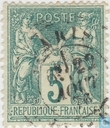 Postage Stamps - France [FRA] - Peace and Trade (Sage type I)