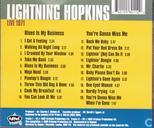 Disques vinyl et CD - Hopkins, Sam - Live 1971 Blues is my business & You're gonna miss me