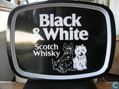 Dienblad Black & White Scotch Whisky