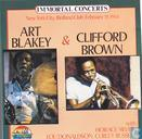 Disques vinyl et CD - Blakey, Art - Art Blakey & Clifford Brown Immortal Concerts