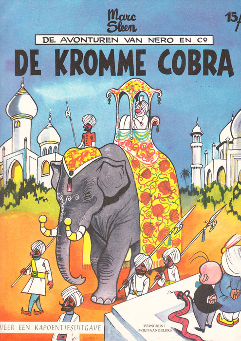 Nero en Co 48 - De kromme Cobra - 1e druk - (1964)