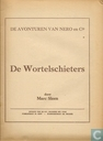 Comic Books - Nibbs & Co - De wortelschieters