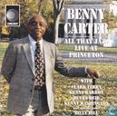 Platen en CD's - Carter, Benny - All That Jazz - Live at Princeton