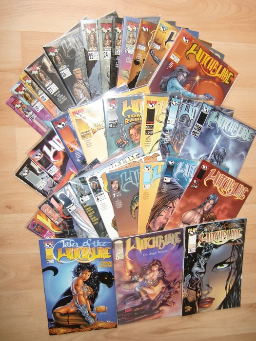Witchblade 1 t/m 30 - Complete NL serie + 2 extra's