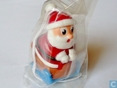 Santa Claus with stamp