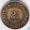 British North Borneo 2½ cents 1903