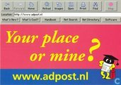 A000276 - Your place or mine?
