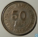 Malaya and British Borneo 50 cents 1958