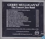 Vinyl records and CDs - Mulligan, Gerry - The Concert Jazz Band