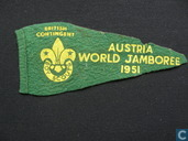 Britsh contingent World Jamboree