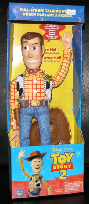 Pull String WOODY- Toy Story 2