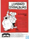 Lombard Stripalbums 1e kwartaal 1981
