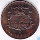 British North Borneo ½ cent 1886