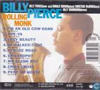 Disques vinyl et CD - Pierce, Billy - Rolling Monk