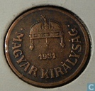Hungary 2 fillér 1931