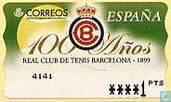 100 years of Tennis club Barcelona