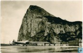 Rock of Gibraltal from Airfield