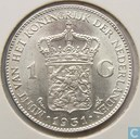 Coins - the Netherlands - Netherlands 1 gulden 1931