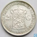 Coins - the Netherlands - Netherlands 2½ gulden 1937