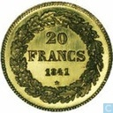 Most valuable item - Belgium 20 francs 1841